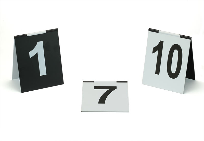 Number signs (several number ranges available) tent design with hinge on the top. Black with white printing on one half white with black printing on the ...  sc 1 st  BVDA & BVDA - Evidence marking